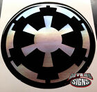 (4) DOMED STAR WARS GALACTIC EMPIRE wheel center cap emblems chrome on black WOW $18.99 USD on eBay