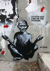 Banksy Gandhi An Eye for An Eye  8x12 & 12x17 canvas print street art graffiti