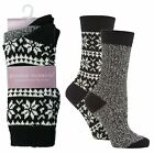 LADIES ACRYLIC CHUNKY KNIT BOOT SOCKS JENNIFER ANDERTON SOLTK01G1,1BKE,1NVT,1DPL