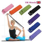 D-Ring Yoga Stretch Strap Training Belt Waist Leg Fitness Exercise Gym Cotton