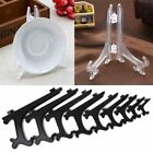 Clear Plastic Plate Photo Display Stand Picture Frame Easel Holder Wholesale