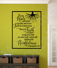 Let Your Roots Grow Down Colossians 2:7 Christian Vinyl Wall Decal Scripture