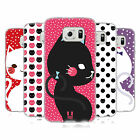 HEAD CASE DESIGNS CATS AND DOTS SOFT GEL CASE FOR SAMSUNG PHONES 1
