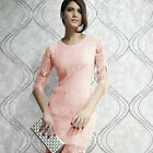 New Sexy Womens Bodycon Slim Lace Mini Dress Cocktail Club Party Dress