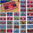 "MLB Teams - 19"" X 30"" Uniform Inspired Starter Area Rug - Door Floor Mat on Ebay"