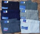 CROFT & BARROW MENS CLASSIC FIT EXPANDER WAIST SOFT CANVAS CARGO PANTS LIST $60