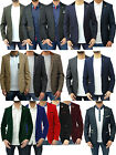Mens Designer Marc Darcy Casual Tailored Fit Blazer Jacket Suit Formal Smart