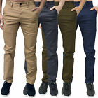 Mens Designer EJ Eto Jeans Regular Slim Tapered Chinos Pants Trousers Bottoms