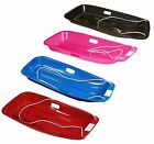 2 x Plastic Sledges Snow Toboggan Child Sledge Snow Stormer & Rope