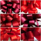 DOUBLE SATIN RIBBON SHADES OF RED 6 COLOURS, 8 WIDTHS 5 LENGTHS BERISFORDS