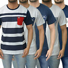 Mens Designer Weekend Offender T Shirt Regular Fit Crew Neck Pocket Tee SS Top