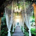 3.3FT/1M Crystal Bead Curtain Garland Wedding Favours Hanging Decorations
