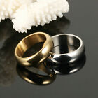 Men Casual Cool Ring Fashion Simple Slippy Bands Rings Titanium Steel Rings