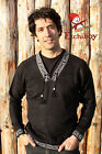 Metis Sweater Etchiboy Black Noir Alpaca Wool Square Shape XS-XL