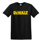 DeWalt tools t-shirt contractor handy man professional construction tools racing