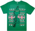 Dr. Seuss: 'The Grinch Who Stole Christmas' Festive Holiday T-Shirt Size: S-2XL