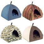 Ancol Just4Pets Pyramid Bed Cat Igloo Small Dog Cave Pet House