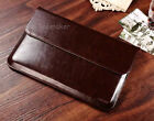 """Genuine Leather Laptop Notebook Bag Case Pouch for 11"""" 13"""" A"""