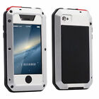 Waterproof Shockproof Aluminum Gorilla Metal Cover Case For  iPhone 6S/Plus 5SE
