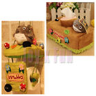 New Cute My Neighbor Totoro Plush Tissue Box Cover Holder Doll Home Toilet Paper