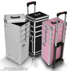 Travel Trolley Cosmetic Vanity Hairdresser Beauty Nail Makeup Case Hand Luggage