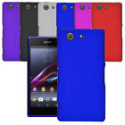 For Sony Xperia Z5 Compact / Mini Slim Hybrid Hard Case Clip On Cover & Screen