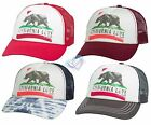 New Billabong Women's Pitstop California Love Mesh Snapback Trucker Hat Cap