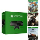 Microsoft Certified Xbox One 500GB Gaming Console - 3 GAME BUNDLE