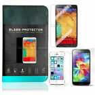 Real Tempered Glass 9H Screen Protector for iPhone 5 5S 5C GALAXY S5 S4 NOTE 3