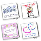 50 PERSONALISED CHOCOLATE WEDDING FAVOURS *600 Designs* High Quality, Free Post