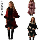 BRAND NEW URBAN MIST  DOUBLE LAYERED CAPE PONCHO STYLE WITH ARMHOLES