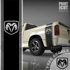 1500 2500 3500 Truck Bed Side Stripes Ram Head Decals Sticker Graphics DS007A $30.0 USD