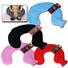 Hot Water Bottle Neck Warm Soft Fleece Cover Soothing Aching Pain Relief Pillow