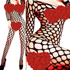 Внешний вид - Women Lingerie Fishnet Body New Bodystocking Stocking Sleepwear Babydoll Chemise