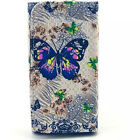 FASHION Cartoon Flower Flip PU LEATHER POUCH WALLET ID CARD CASE COVER FOR
