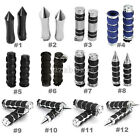 "Motorcycle 1"" Handlebar Hand Grips For Harley Dyna Sportster Softail Touring $15.56 USD on eBay"