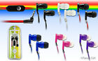 3.5mm Stereo In Ear Earbud Earphone Headset Flat Cord Cable For LG Cell Phone