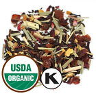 Organic Hibiscus Heaven Loose Leaf Fresh Tea , kosher+ Free Samples