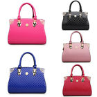 Ladies Handbags PU Patent Leather Handbag Purse Zipper Bag Large Capacity