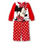 MICKEY MINNIE MOUSE GIRLS TODDLER 2 PC PAJAMA SET PLUSH FLEECE 2T 3T 4T 5T NWT
