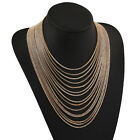Fashion Vintage Layered Tassels Women's Chain Necklace