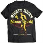 9324 Mighty Mick's Gym T-Shirt Rocky Balboa Boxing Champion Italian Stallion