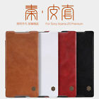 Nillkin® Qin Business Wallet Flip Leather Case Cover For Sony Xperia Z5 Premium