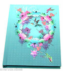 Hummingbird Design A6 Case Bound Hardback Notebook - 80 Double Sided Lined Pages