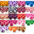 "Roses Artificial Silk Flower Heads 1.75"" wholesale Wedding Party Home Decor"