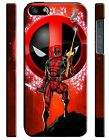 Iphone 4 4s 5 6 6S 7 8 X XS Max XR 11 Pro Plus Hard Case Deadpool Hero Comics 9