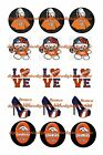 "DENVER BRONCOS GIRL 1 "" CIRCLES  BOTTLE CAP IMAGES. $245-$5.50   FREE SHIPPING $5.5 USD on eBay"