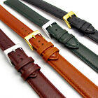 Padded Denver Leather Watch Band Extra Long XL 16mm 18mm 20mm 4 Colors D010