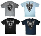 Veterans POW MIA VETS Wing Shield Back Graphic Tees S M L XL Size T-Shirt