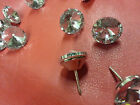 SWAROVSKI Element/Diamond/Crystal Clear Upholstery Headboard Buttons with nail
